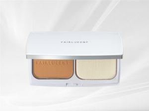 Phấn nền trang điểm Fairlucentlàm trắng và cải thiện nám da
